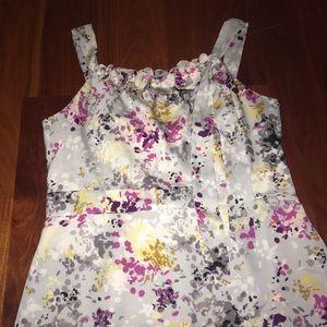 Floral LOFT Ann Taylor dress size: 14